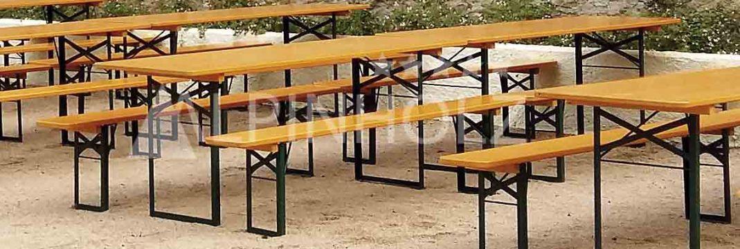 Mesas plegables de madera alemanas Classic de Alpinholz