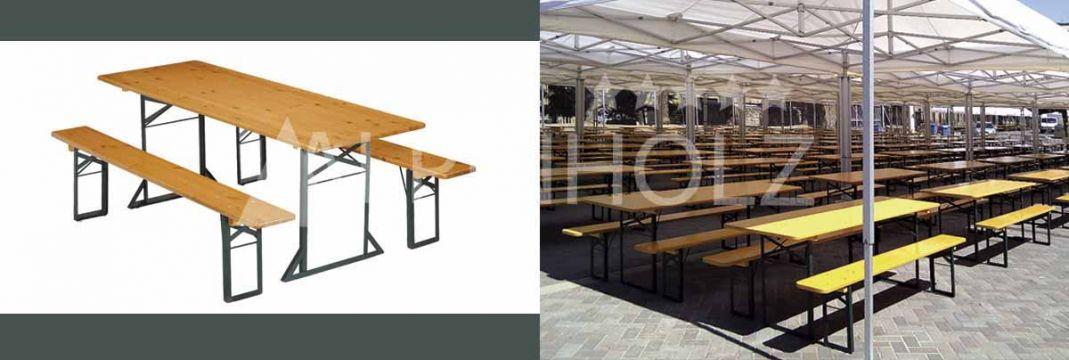Mesas plegables para eventos y fiestas de Alpinholz