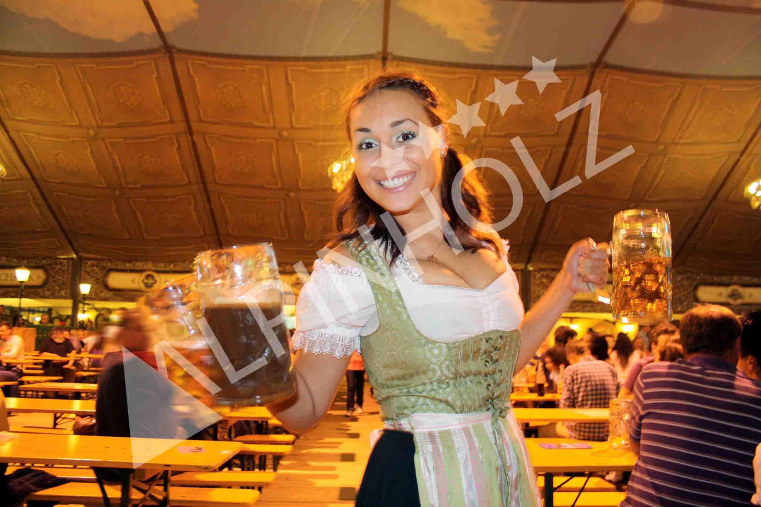Mesas plegables Alpinholz, las mesas de la Oktoberfest