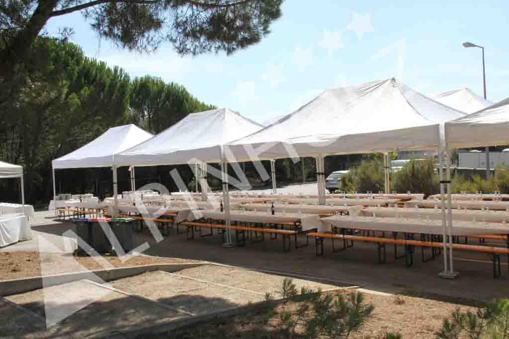 Mesas plegables Alpinholz, alquiler y venta de mesas cerveceras