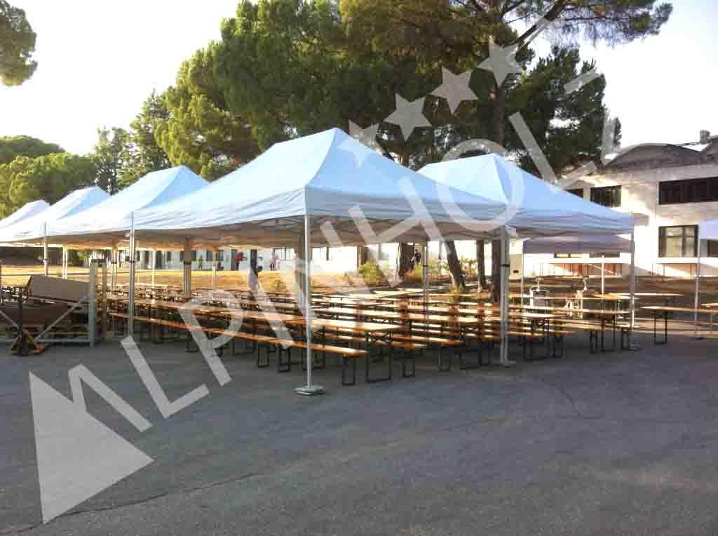 Mesas plegables Alpinholz, mesas plegables de alquiler para eventos