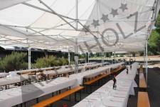 Mesas plegables para catering, alquiler de mesas cerveceras de Alpinholz