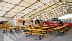 Alquiler de mesas cerveceras de Alpinholz, mesas plegables alemanas para festivales