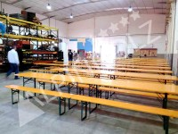 Alquiler de mesas plegables y bancos plegables de Alpinholz