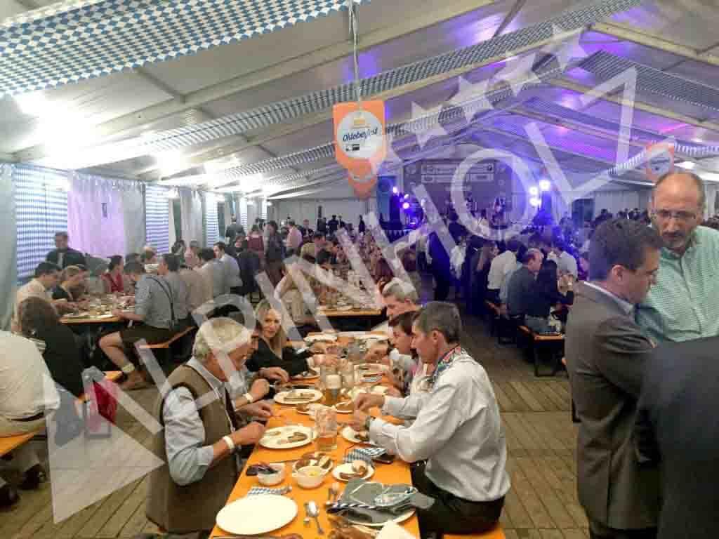 Mesas cerveceras de Alpinholz, mesas para eventos