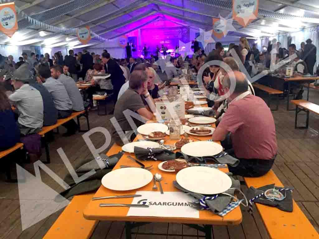 Mesas plegables para eventos y fiestas, mesas de Alpinholz