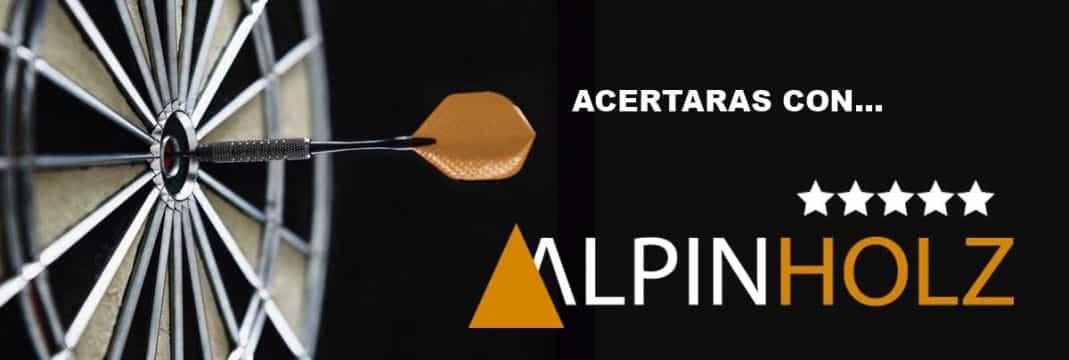 Acertaras con mesas plegables Alpinholz