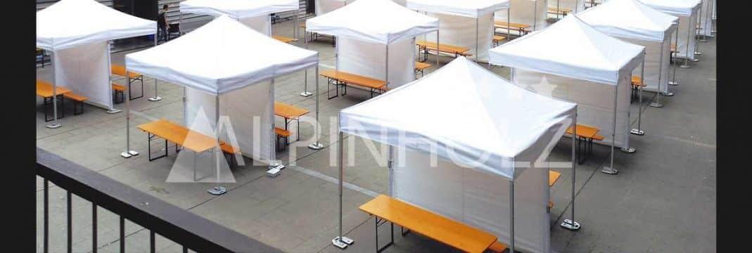 Mesas plegables para eventos y fiestas, mesas de alquiler de Alpinholz