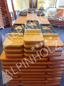 Fabricantes de mesas y bancos plegables de madera, mesas plegables para ayuntamientos de Alpinholz