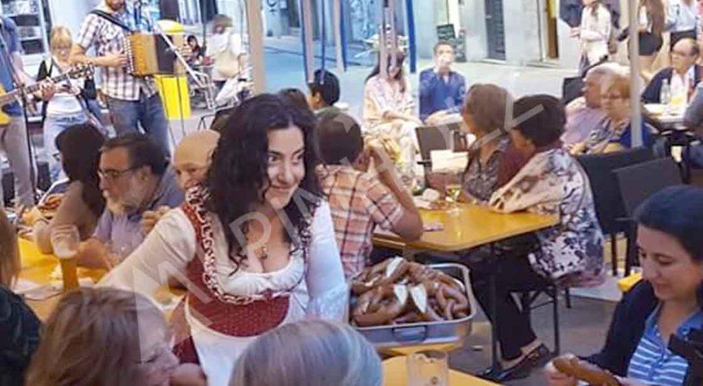 Nuestras mesas plegables para Oktoberfest de Alpinholz