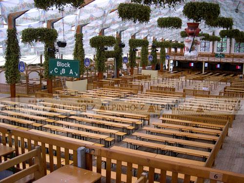 Nuestras mesas plegables alemanas están por toda Europa