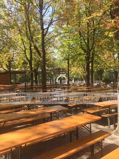 Mesas plegables alemanas para fiestas y celebraciones