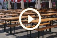 Mesas plegables Alpinholz