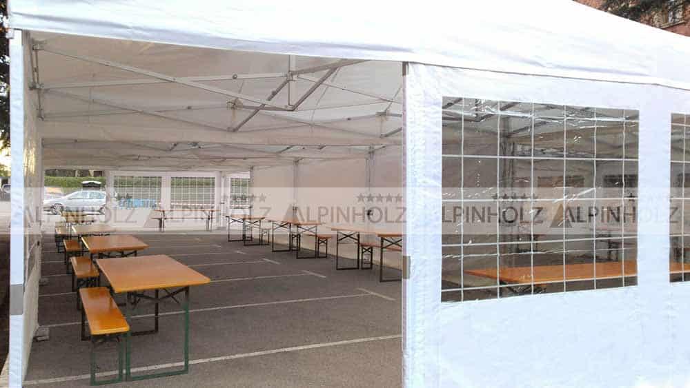 Fabricantes de carpas y mesas para eventos en exterior