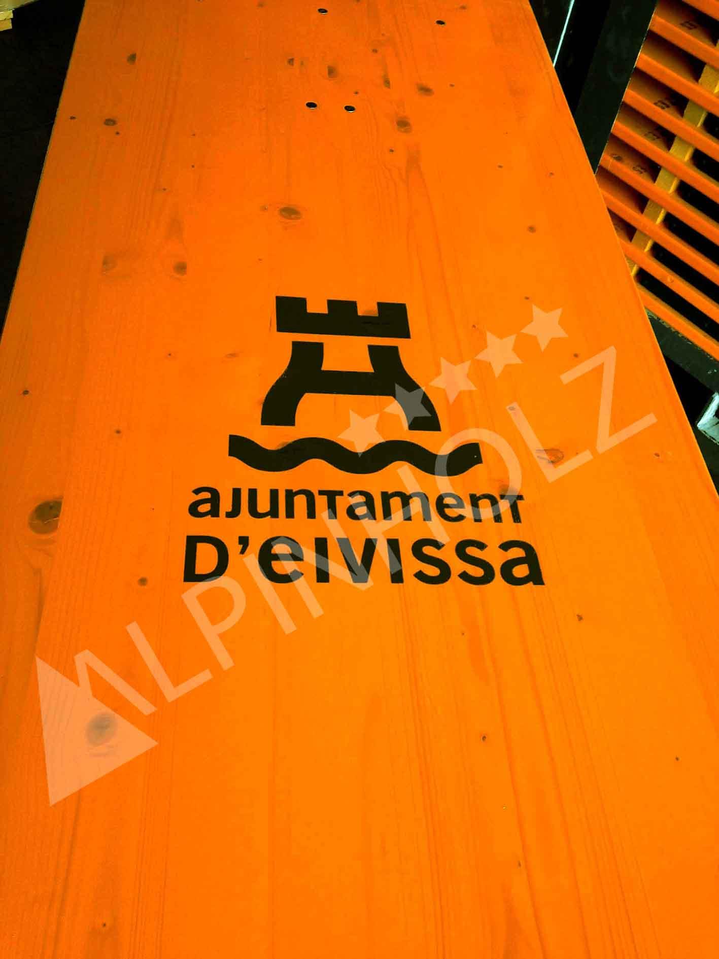 personalización de mesas plegables