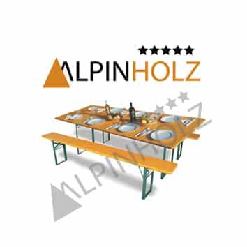 mesas plegables madera