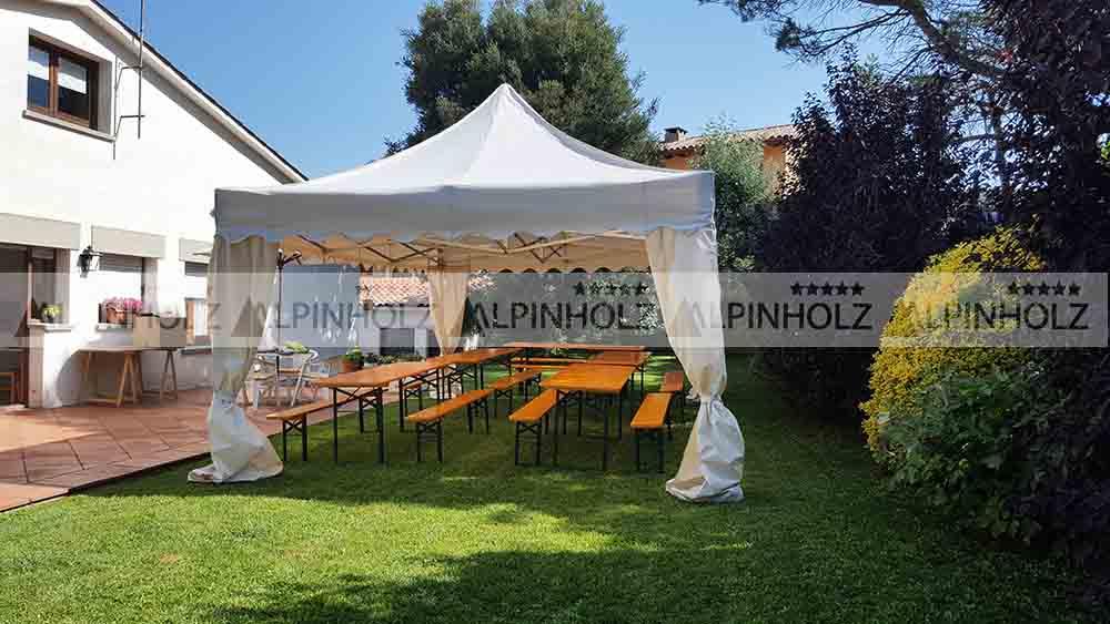 Mesas cerveceras para eventos y festejos