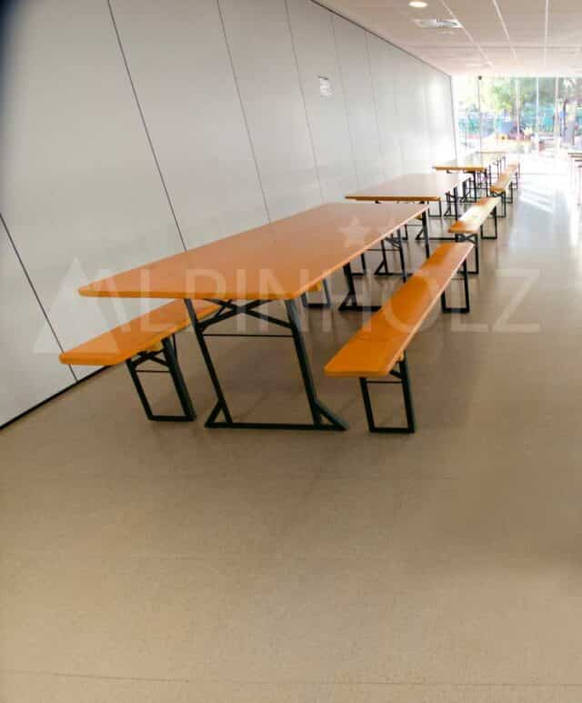 Mesas plegables para catering